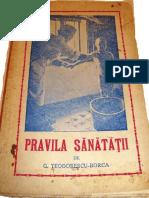 Pravila Sanatatii Ed.1947
