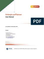 Solargis PvPlanner User Manual
