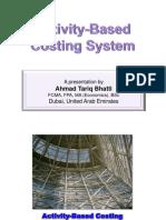 Activity Basedcostingsystem