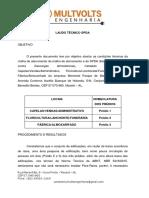 Laudo Técnico Spda - Memorial Parque de Maceió
