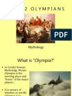 The 12 Olympians PPT