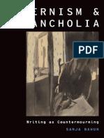 modernism and melancholia