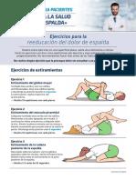 FORMACION FARMA FISIO - Ejercicios Dolor de Espalda