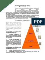 """ORGANIZACIÓN POLÍTICA DE AMÉRICA """"Régimen Indiano"""""""