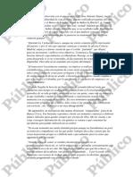 Extracto de la querella de Elena Salgado contra Criteria Caxia