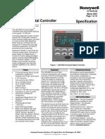 Especificação Técnica UDC2500