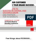 Presentation Romania 2007