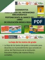 Baja Patrimonio Bibliográfico Banco Libro