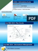 Informations Pratiques Live NBS 2019