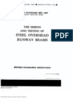 Steel Overhead Runway Beams