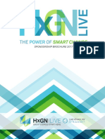 HxGNLIVE2017 Sponsorship Kit