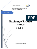 Exchange Traded Funds ( ETF )