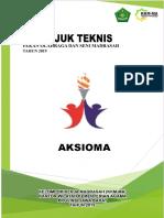 Juknis AKSIOMA (Revisi) 2019