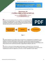 Dimensiones Del Clima Organizacional - Autor_ Alexis Gonçalves