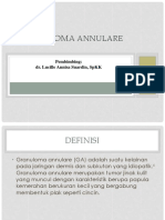 GRANULOMA ANNULARE