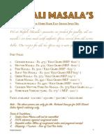 Shefali Masalas - 2018 VR PDF