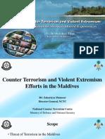 CT Seminar - BG Mansoor - Maldives CT Effort - Ver 2