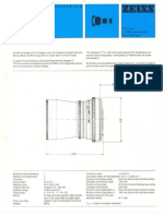 Distagon Datasheet