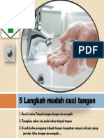 5 Langkah Mudah Cuci Tangan Leavlet A