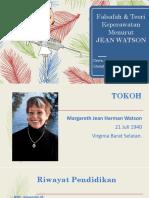 Teori Jean Watson - GHEA