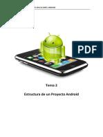 Tema 2. Estructura de Un Proyecto Android