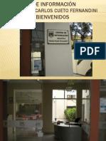 BIENVENIDOS AL CENTRO DE INFORMACIÓN BIBLIOTECA CARLOS CUETO
