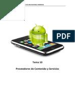 Tema 10. Proveedores de Contenido y Servicios