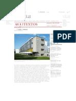 Arquitextos e Sempre a Bauhaus _ Vitruvius