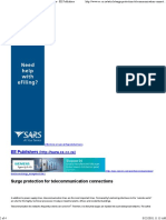 Surge Protection for Telecommuon Connections - EE Publishers 2
