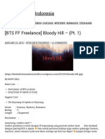 [BTS FF Freelance] Bloody Hill – (Part 1) BTS Fanfiction Indonesia