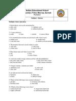 Worksheet Acids