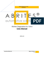 Abrites Diagnostics for Volvo User Manual