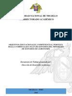 Programa de Estudios de Agronomía