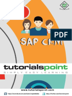 SAP CRM Tutorial