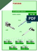 Al09 Cotransa Catalogo Actuadores Lineales Compactos