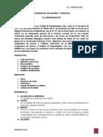 Informe Empresa Financiera