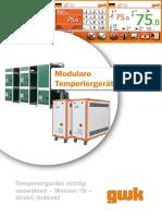 Modulare Temperiergeräte