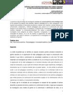 Gestión de la red exocéntrica como estrategia pedagógica para formar comunidad de práctica entre maestros desde el escenario ambiental. Sandra Albarracín Lara. Colegio Técnico Jaime Pardo Leal (Bogotá).