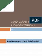 6-Model Promosi Kesehatan