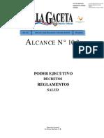Reglamento para la comercializacion de GLP en CR