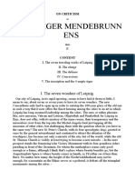 On Criticism of Leipziger Mendebrunnens-English-gustav Theodor Fechner