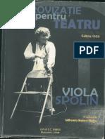 Viola Spolin - Improvizație Pentru Teatru, Ediția 1999 ( Traducere