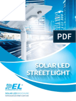 StreetLight Catalogue (SOLAR LED