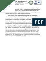 4th Floor Procedure Journal