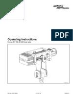 Operat.instruct. DH160,DH200