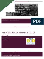 Comparativa Ley N°29783 y Ley N°30222