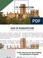 Age of Romanticism