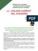 La Roland Garros del Judaismo