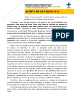 Alerta Sarampo Nº 03-12-07-2018