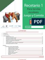 RECETARIO 1 PARA TIENDAS ESCOLARES JUEGO Y COMIDA.pdf